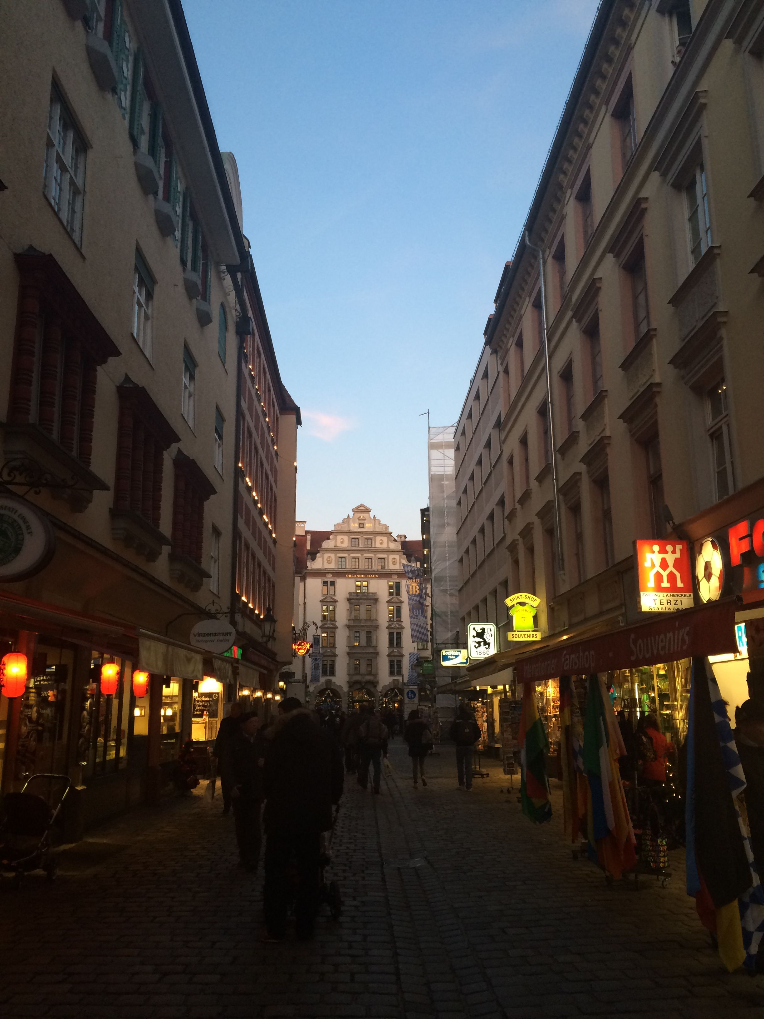 Munich afternoon.