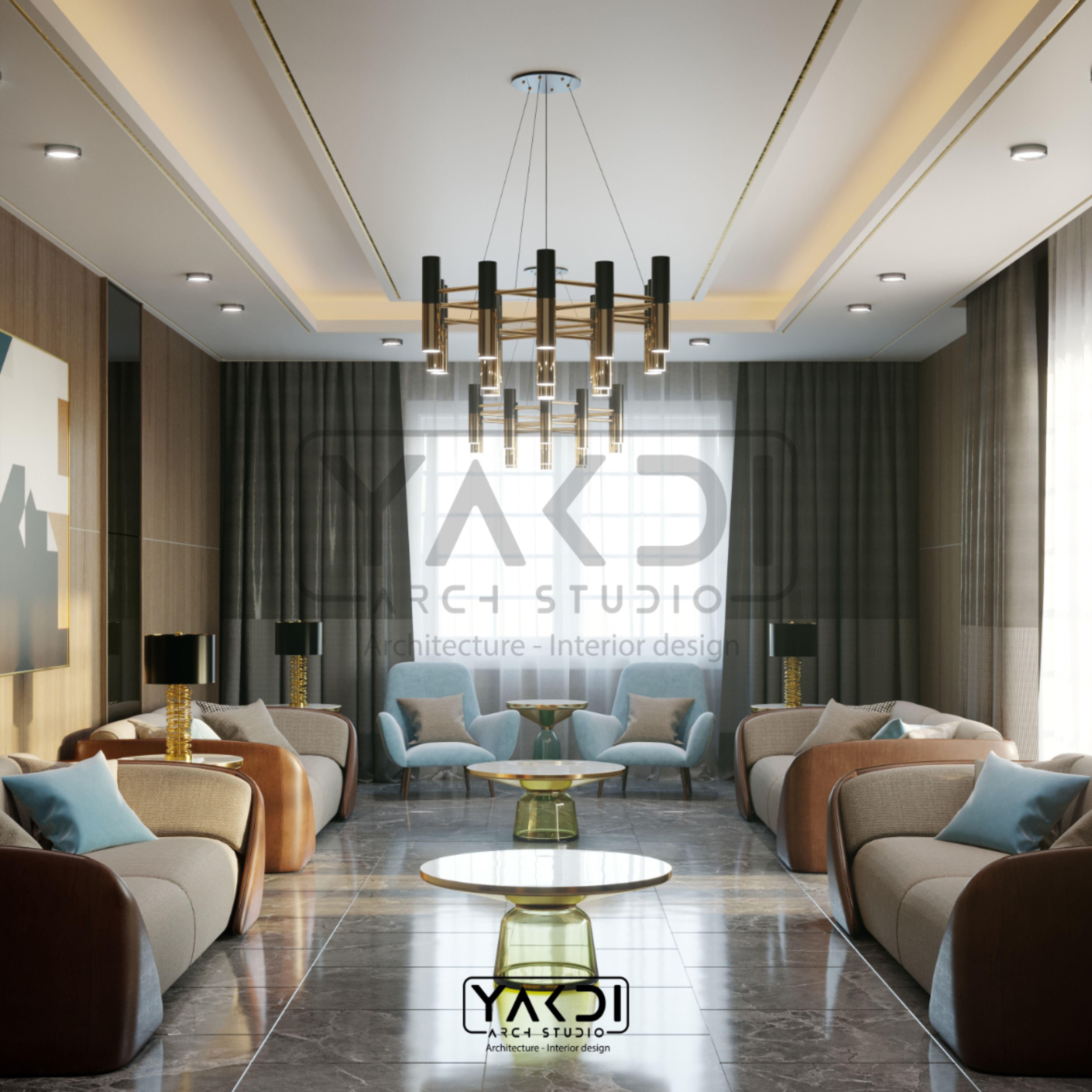 Men Majlis Modern Apartment Interior Architecture Design Interior Architecture
