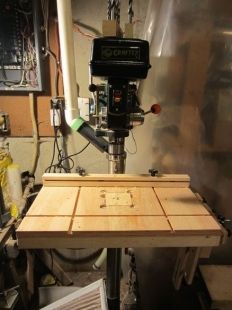 Drill Press Table And Accessories Homemade Drill Press Table And