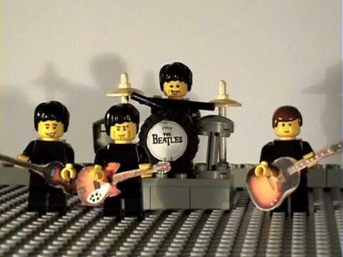 The Lego Beatles Happy Birthday Youtube Anniversaire Joyeux
