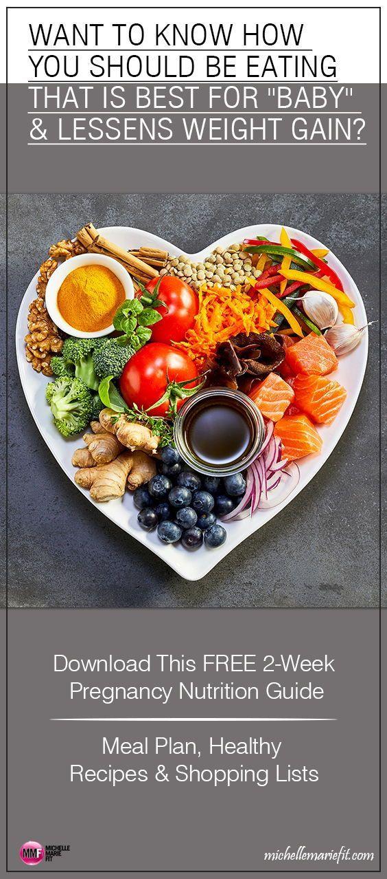 Laden Sie diesen KOSTENLOSEN 2-wöchigen Ernährungsplan für Schwangere herunter, damit Sie …   – My Boards