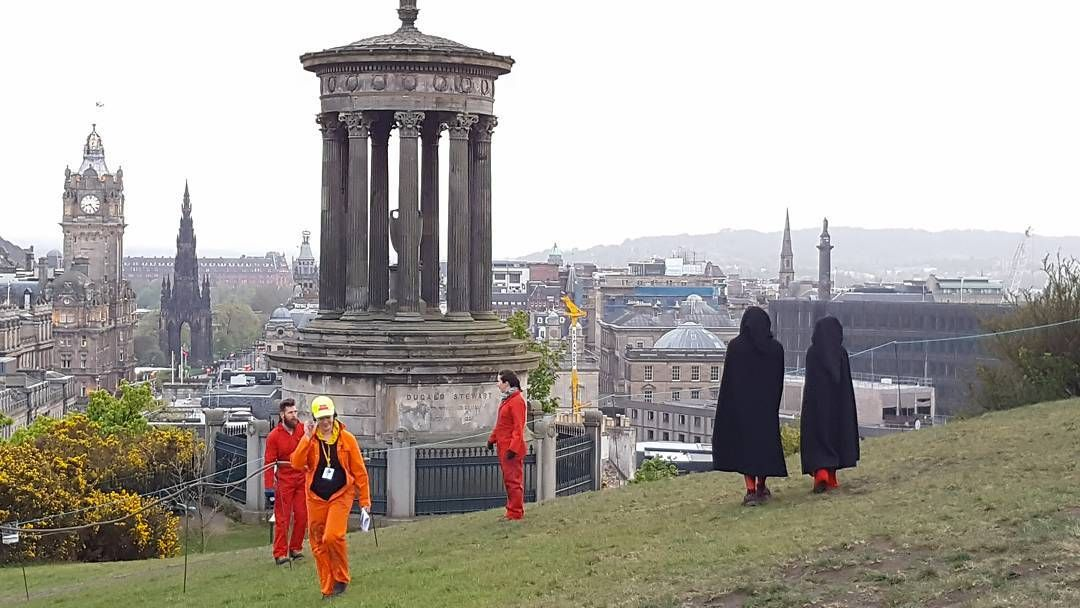 'Calton hill' - #caltonhill #caltonhilledinburgh #Edinburgh #scotland #photography #beltane #beltanefestival #photography  #view #park #city #urban