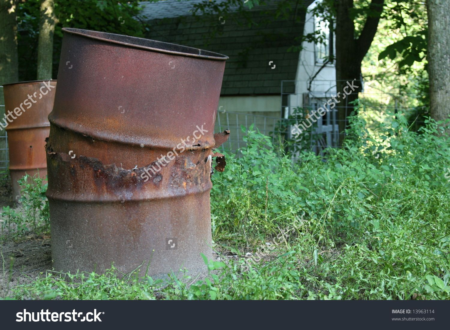 Burning barrel stock photos images pictures