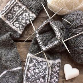 Fair Isle Socke Anleitung Socken Pinterest Stricken Socken