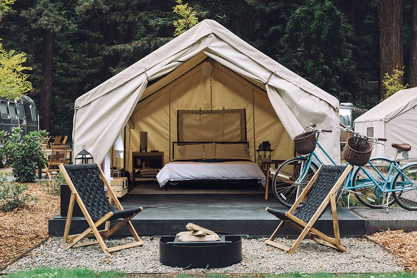 Autocamp Russian River Offers Glamping In Northern