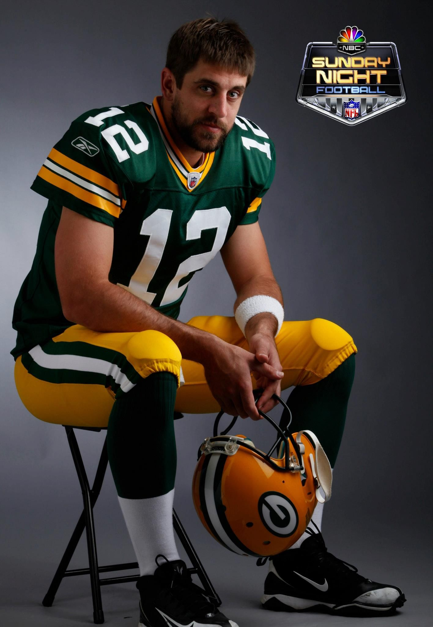 Aaron Rodgers Green Bay Packers Nbc Sports Edward Rieker Tags Sunday Night Football On Nbc Green Bay Packers Team Green Packers Rodgers Green Bay