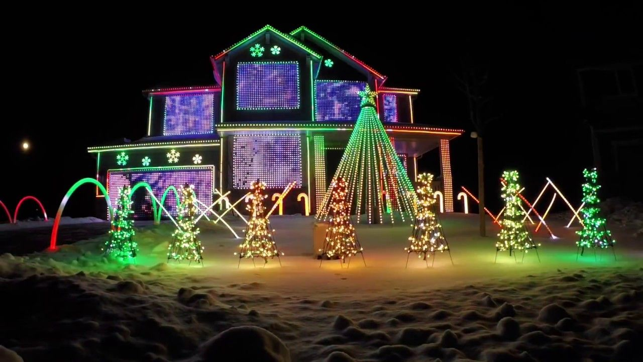 Trista Lights 2016 Christmas Light Show - Featured on ABC\'s The ...