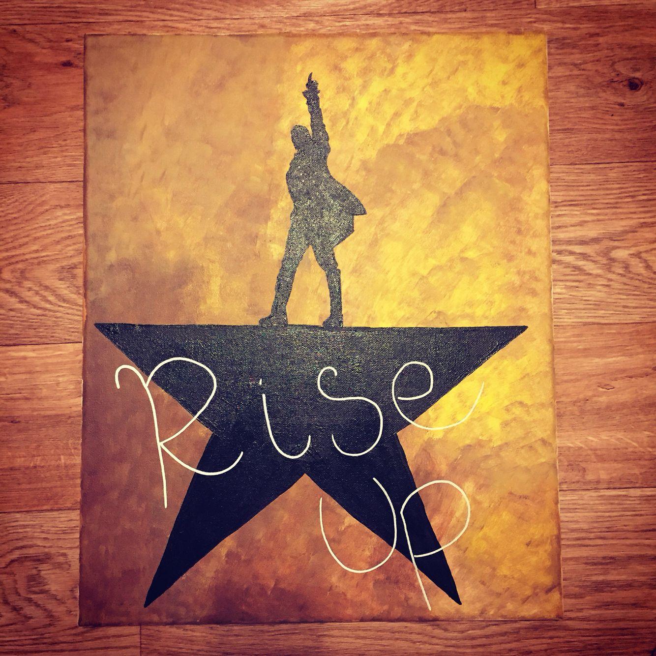 Hamilton Musical painting | Canvas | Pinterest | Hamilton musical ...