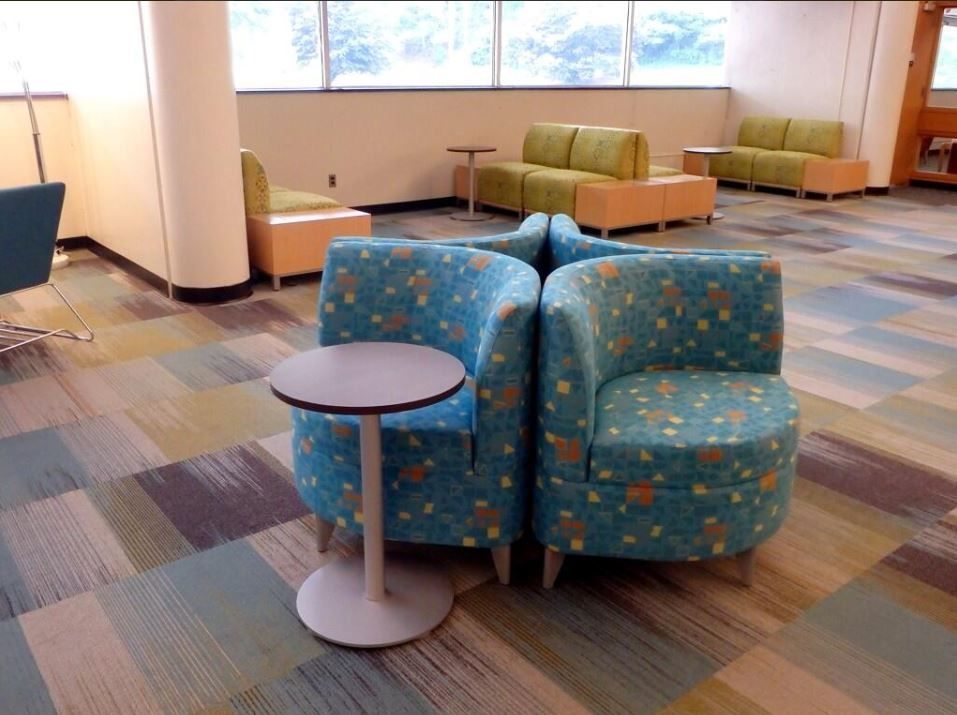 Hunter Library Wcu Campus Educationdesign Workplacedesign