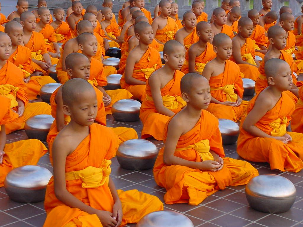 I Love That These Students Are Taught To Meditate From Such A Young Age The Answer For World Peace