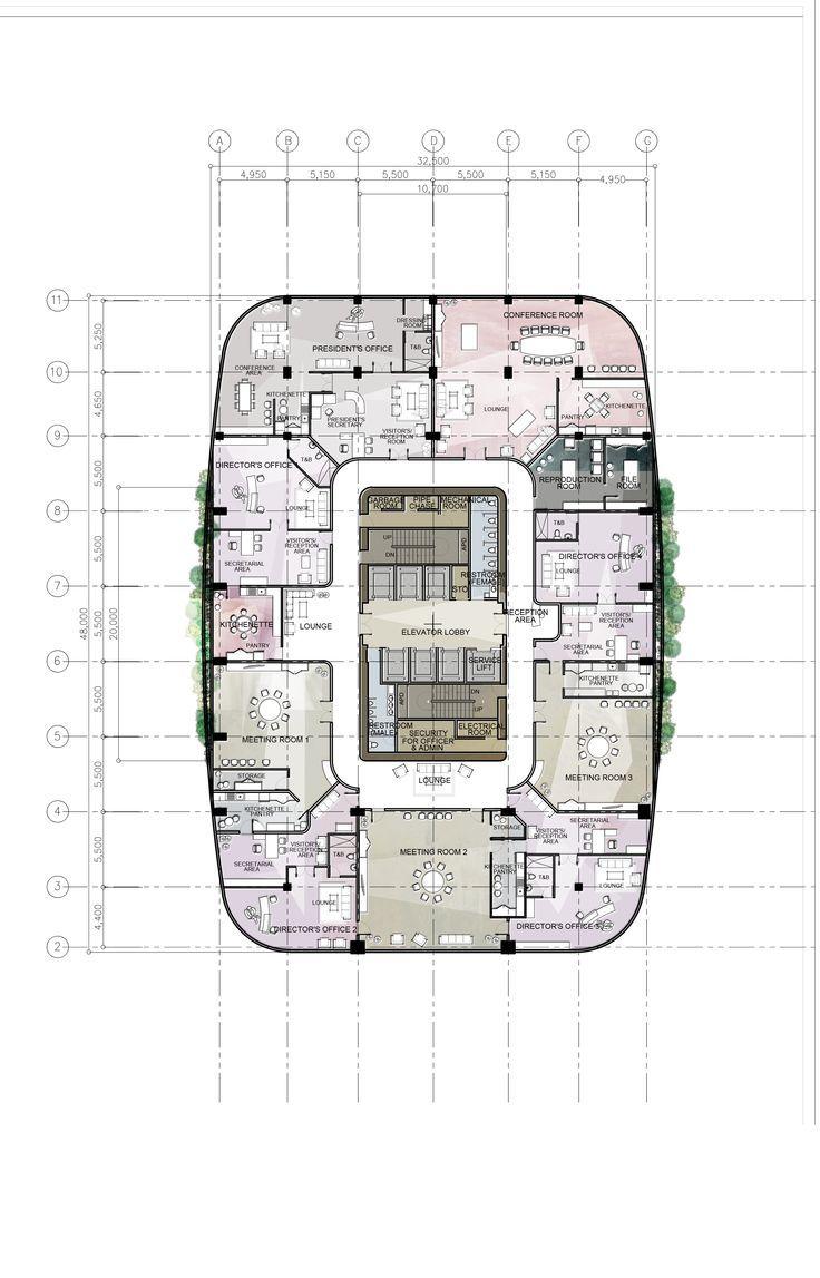 High rise residential floor plan google search - Architektur plan ...