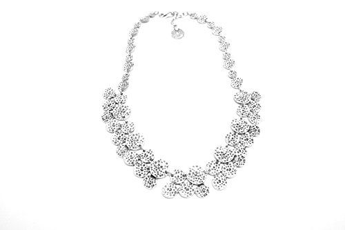 Chanour Jewelry Hammered Round Disc Necklace >>> Be sure to check out this awesome product.