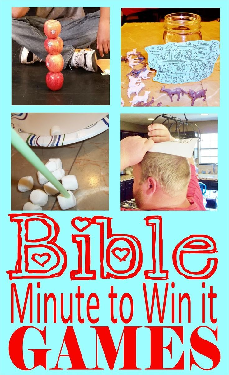 HollysHome - Church Fun: Minute to Win it - Old Testament