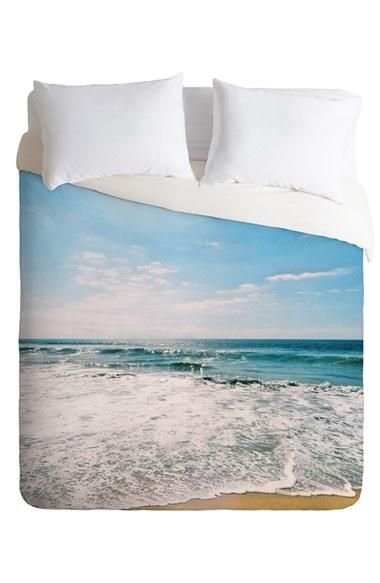 Love it! Summer waves on a duvet.