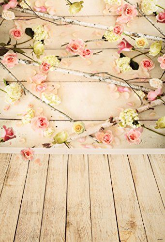 Baby Shower Backdrop Purple Flower Gold Glitter Leaf Party Decorations Photographic Backdrops Photocall Prop Background Wall Background for Photography Backdrop Studio Props Portrait Photo Shooting