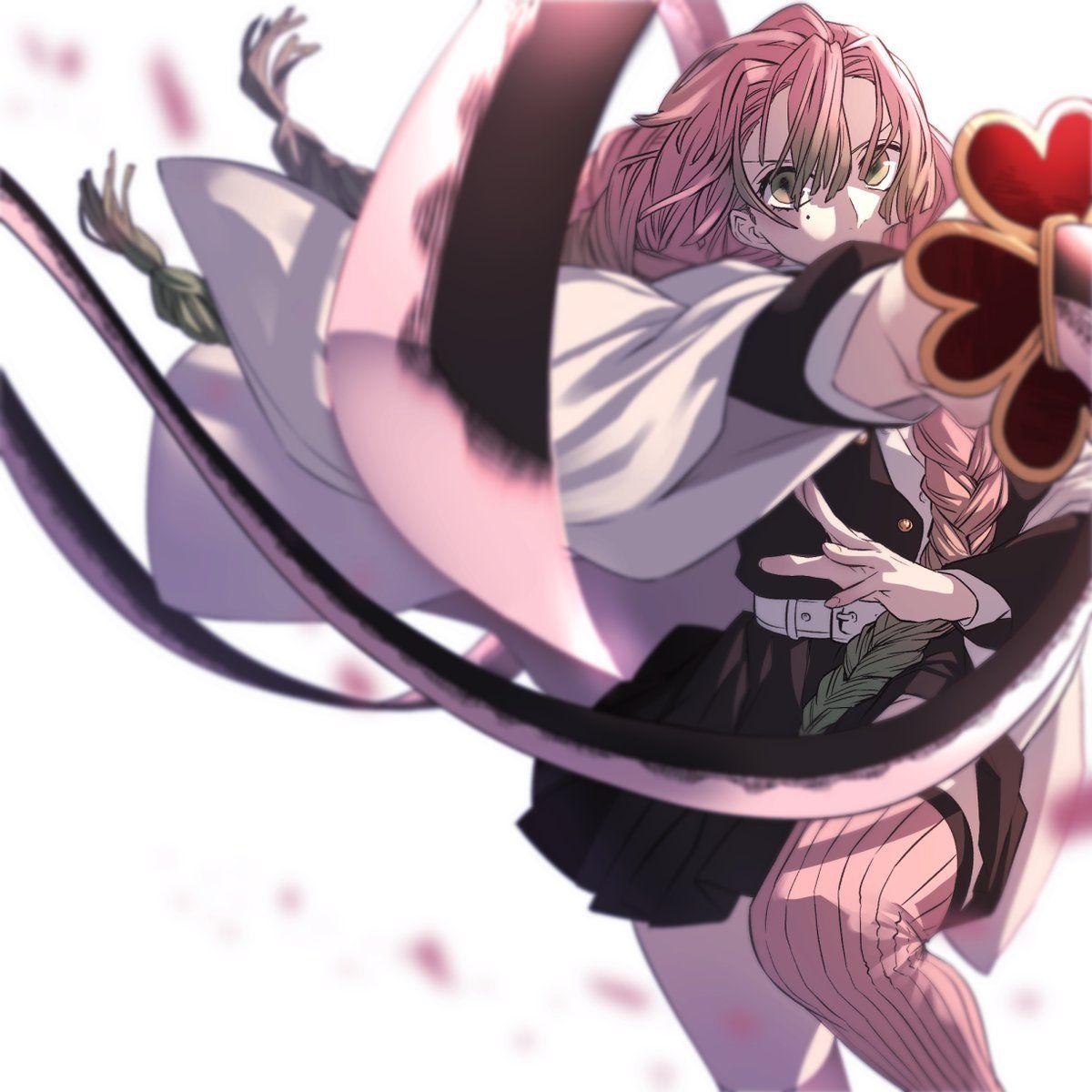 Kanroji Mitsuri Kimetsu No Yaiba Demonslayer Characters Design Drawing Manga Art Anime Animestyle Animegirl Anime Demon Anime Slayer Anime The version i recommend the most is 100cm. anime demon anime slayer anime