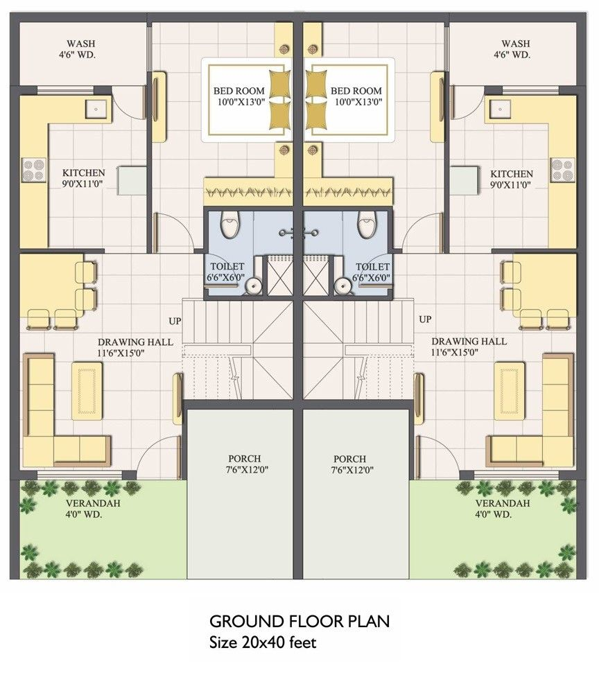 Pleasant design ideas 9 20 x 40 house floor plans 50 home homepeek endearing enchanting