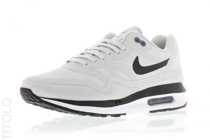 best loved c6a4e cc89f 654470-004 Pure Platinum Black-Dark Raisin Nike Air Max Lunar1 WR Titolo