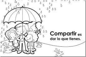 Resultado De Imagen Para Imagenes Convivencia Escolar Para Colorear Learning Spanish How To Speak Spanish Spanish Classroom