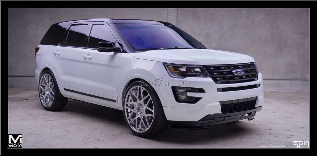 2016 ford explorer white black planes trains automobiles pinterest. Black Bedroom Furniture Sets. Home Design Ideas
