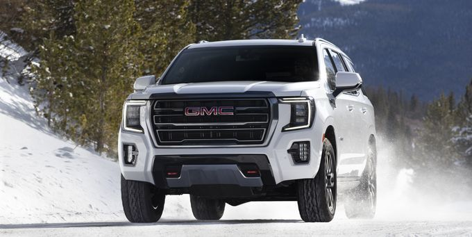 The 2021 Gmc Yukon At4 Is America S New Rugged Family Hauler In