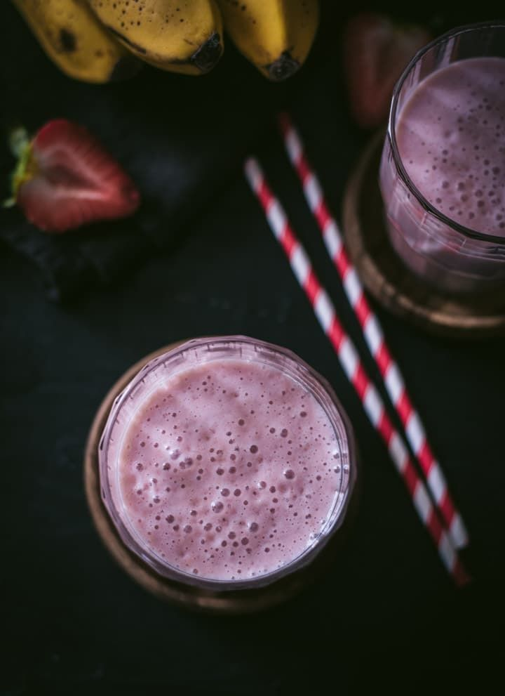 Strawberry Banana Smoothie #strawberrybananasmoothie Strawberry Banana Smoothie #strawberrybananasmoothie