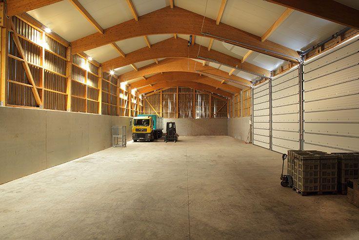Halle Holz Bausatz