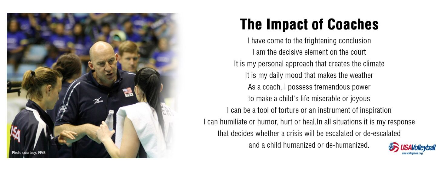 Impact Of A Coach  Coach