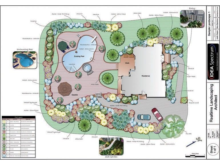 garden design programs. The Chic Backyard Landscape Design Plans  Software Idea Spectrum is one of the pictures that are related to picture bef common shrubs used for landscaping Google Search Landscaped