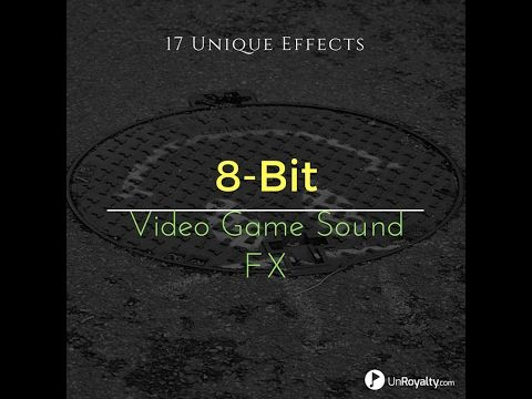 8-Bit Video Game Sound Effects -- 17 sounds in 1 Royalty-Free Pack