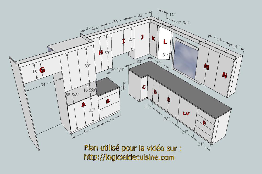 plan utilise pour la video1png 1001665 - Plans Cuisine