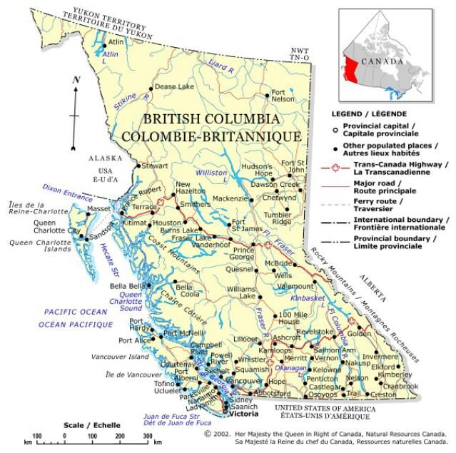from british columbia to nunavut your guide to canada british columbia