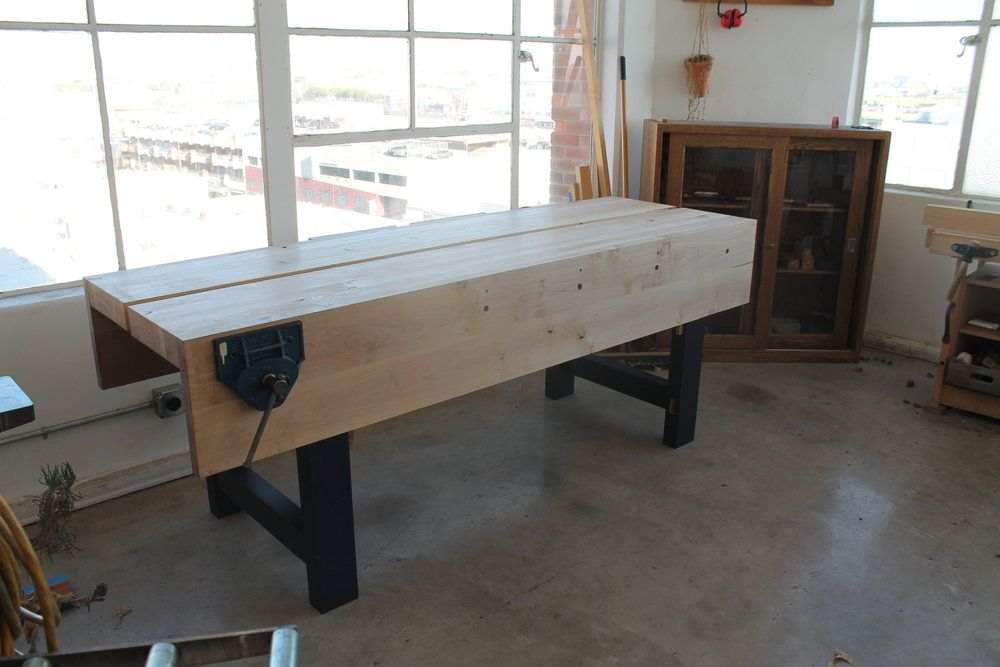 Nicholson Bench Planing Top Fitting Vise West Of Noble Workbench Bench Vise