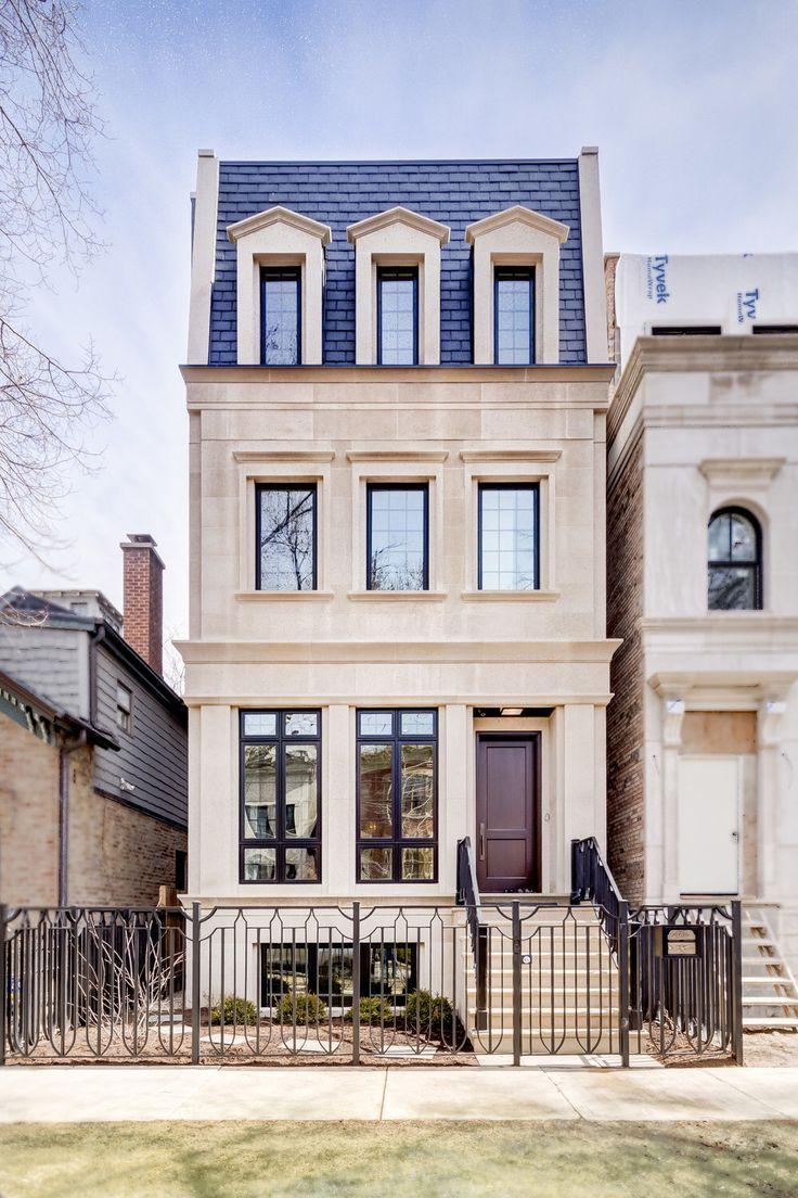 Barrett Homes Chicago Facade House House Exterior City House