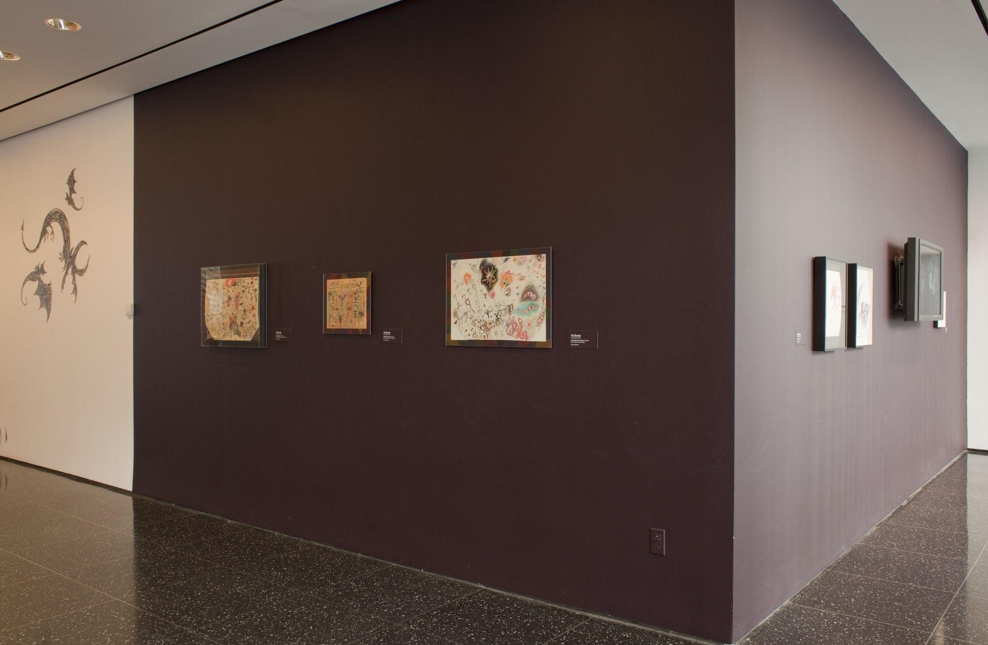 Museum Of Modern Art Moma Moma Tim Burton Exhibit Museum Of Modern Art