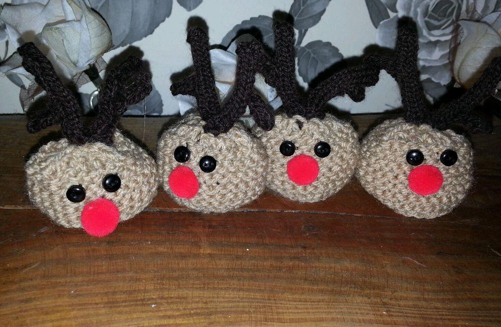 Christmas Knitting Patterns For Ferrero Rocher.4 Sweet Little Christmas Reindeers Ferrero Rocher Chocolate
