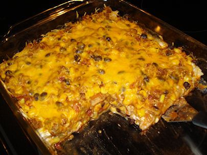 Healthy Mexican Lasagna Recipe Made With Tortillas And Cottage Cheese A Family Staple