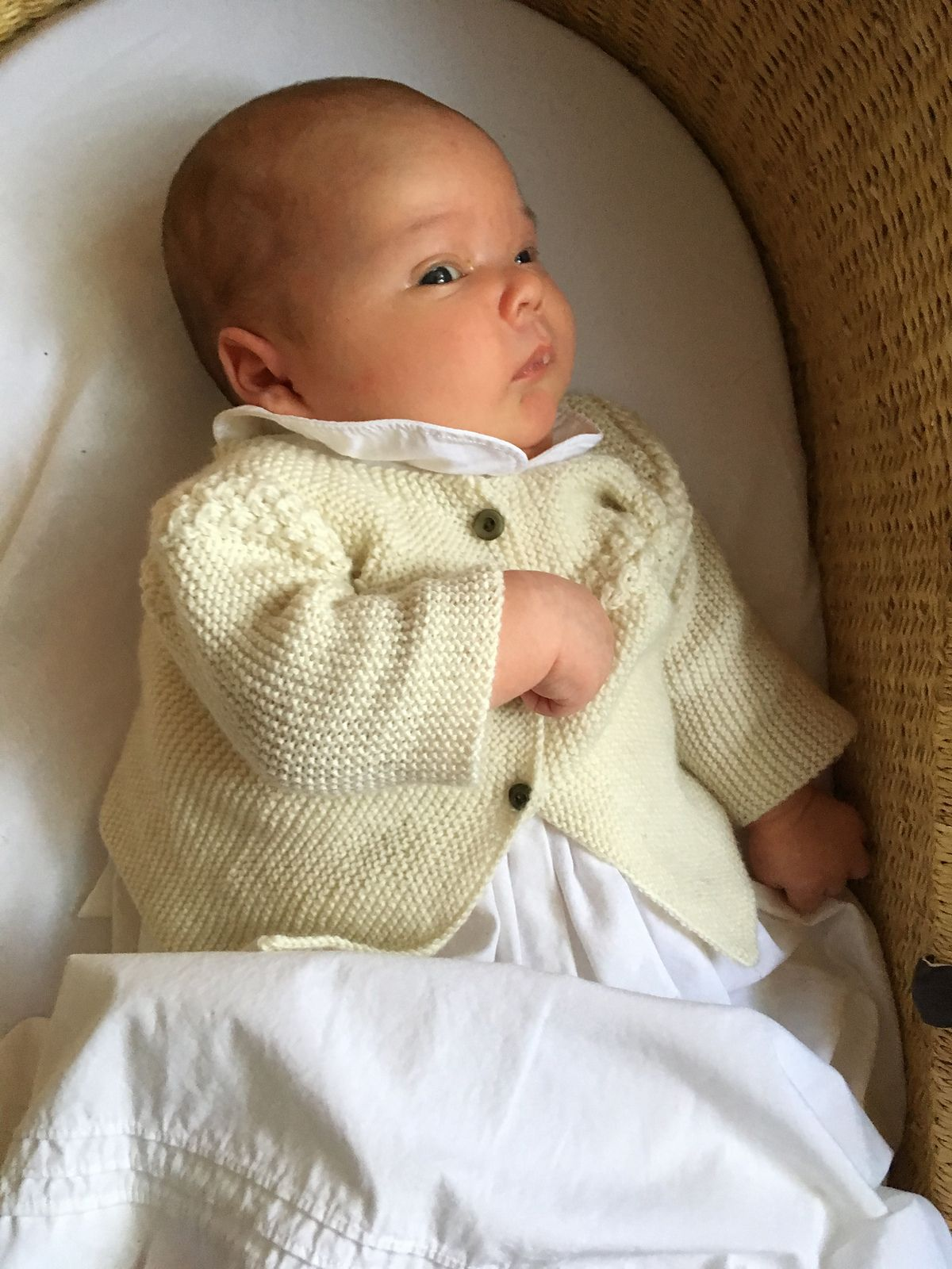42e9c5d7a 29   Princess Charlotte Baby Jacket pattern by Florence Merlin