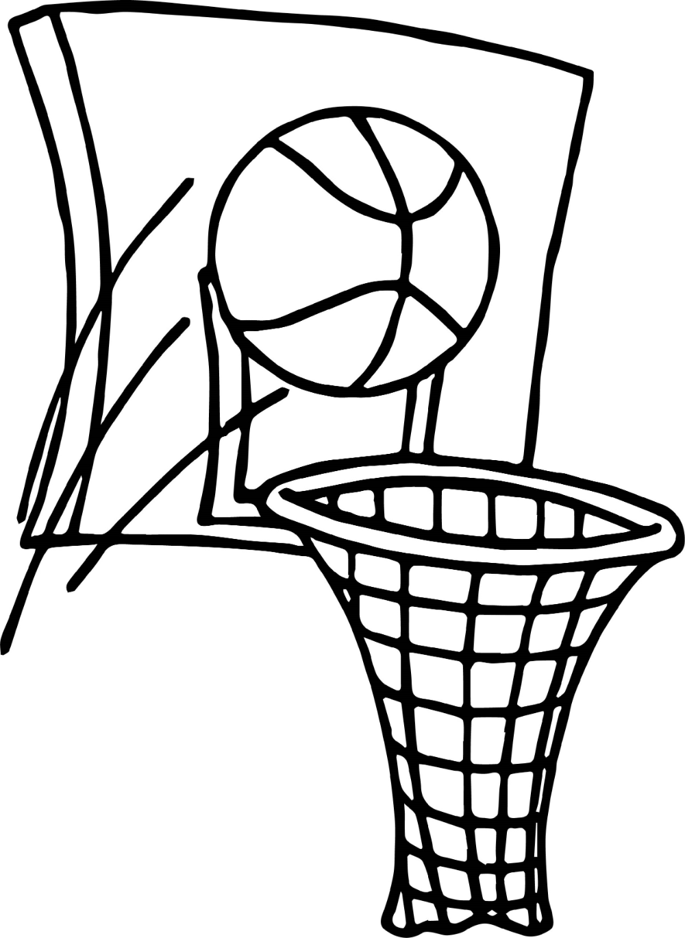 Basketball Coloring Pages Free Printable Sports Coloring Pages Beach Coloring Pages Coloring Pages