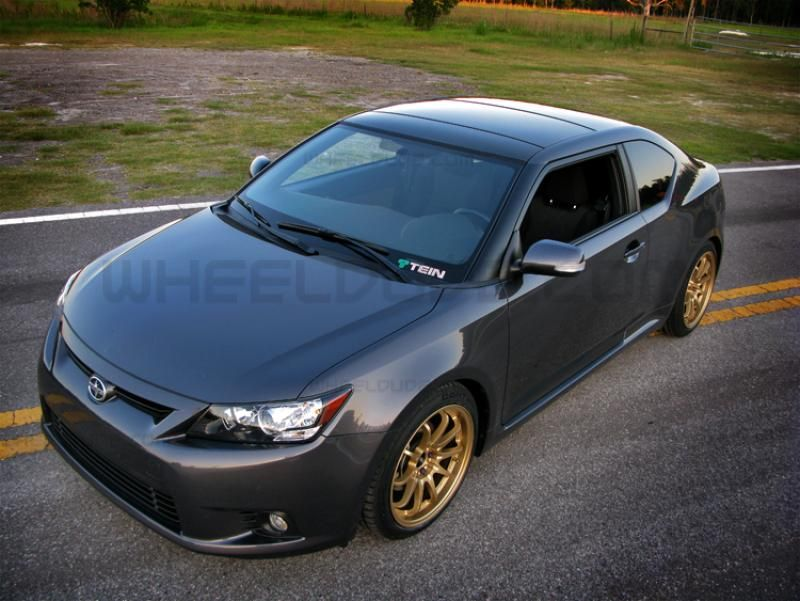 Rota Dpt Wheels On 2011 Scion Tc Wheeldude Com Scion Tc Old Muscle Cars Scion