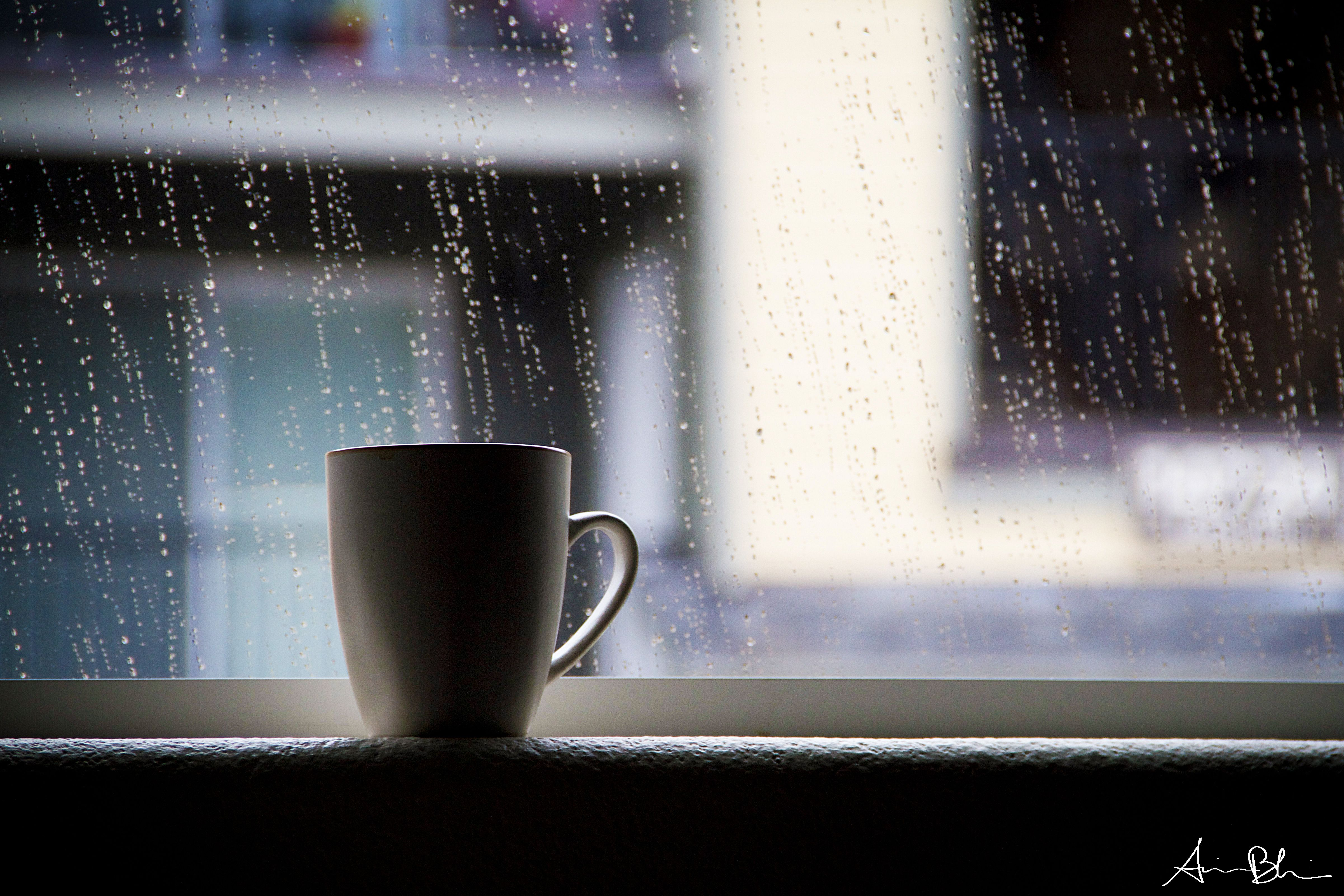 Hot Coffee, Cold Rain. (With images) Rain and coffee