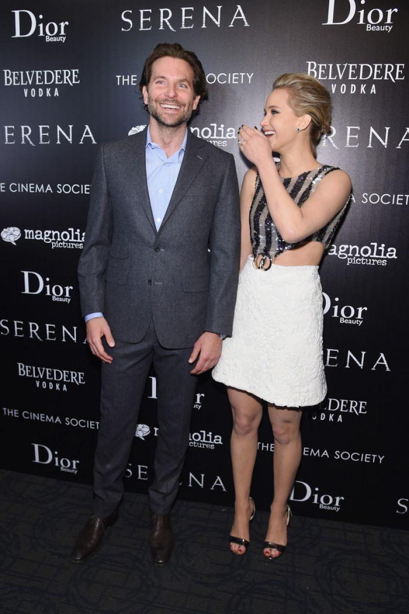Jennifer Lawrence At 'Serena' Screening