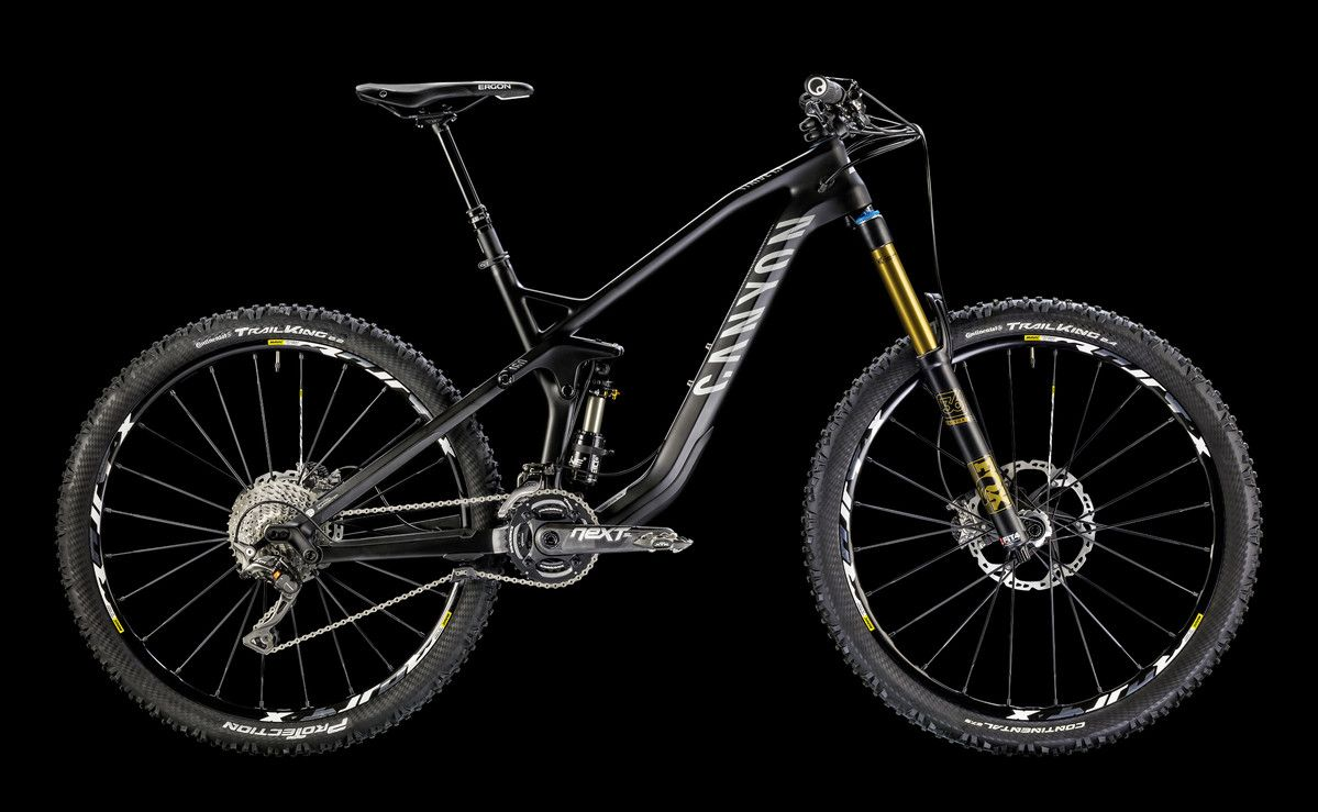 Canyon Strive - an enduro bike, but in reality it's two bikes in one, go from XC to DH with the push of a remote!