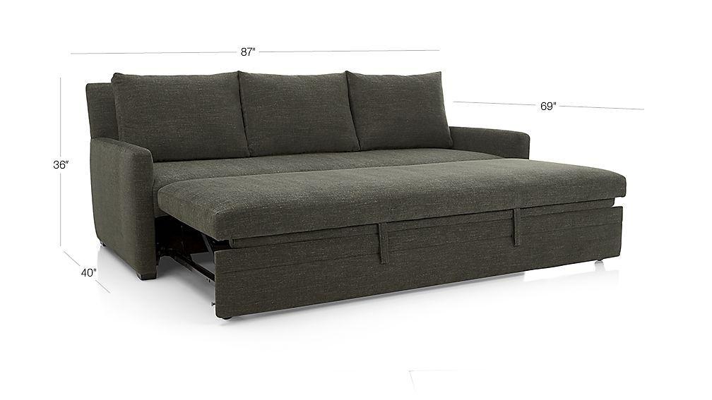 Best Reston Queen Trundle Sleeper Sofa Small Sleeper Sofa 400 x 300