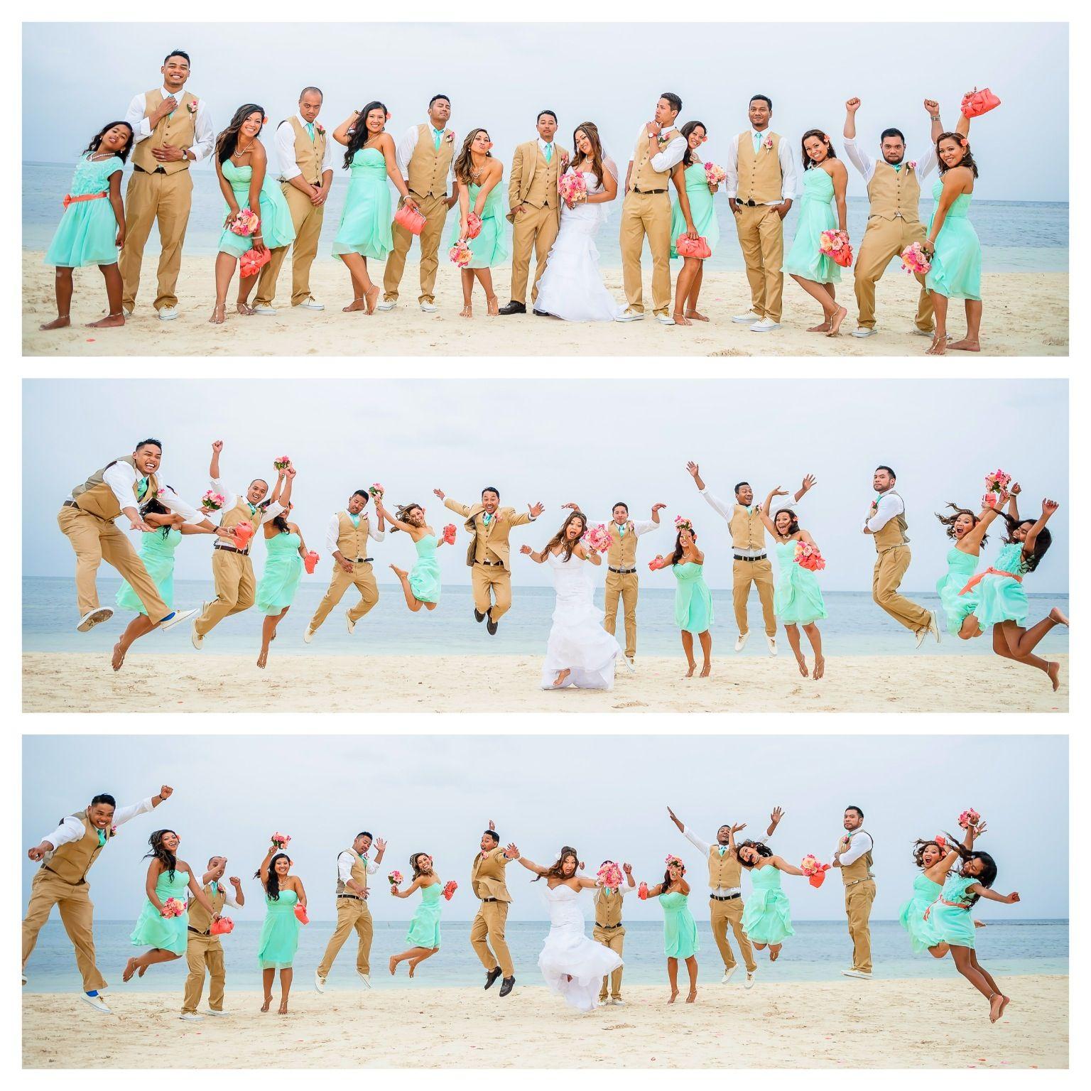 Beach Wedding Destination Wedding Jamaica Groomsmen