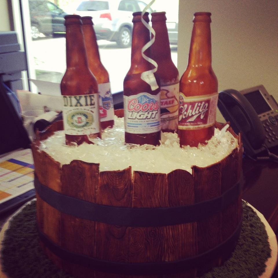Bier-Kuchen :) #Hochzeit #wedding #Bräutigam | Groom\'s Cake ...