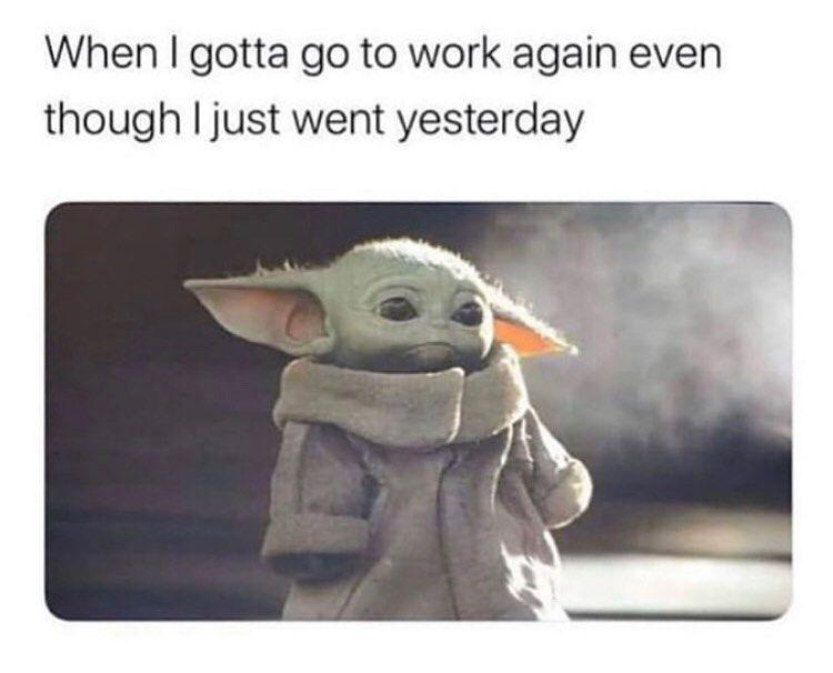 Pin By Kaelyn On Baby Yoda Star Wars Memes Yoda Meme Yoda Funny