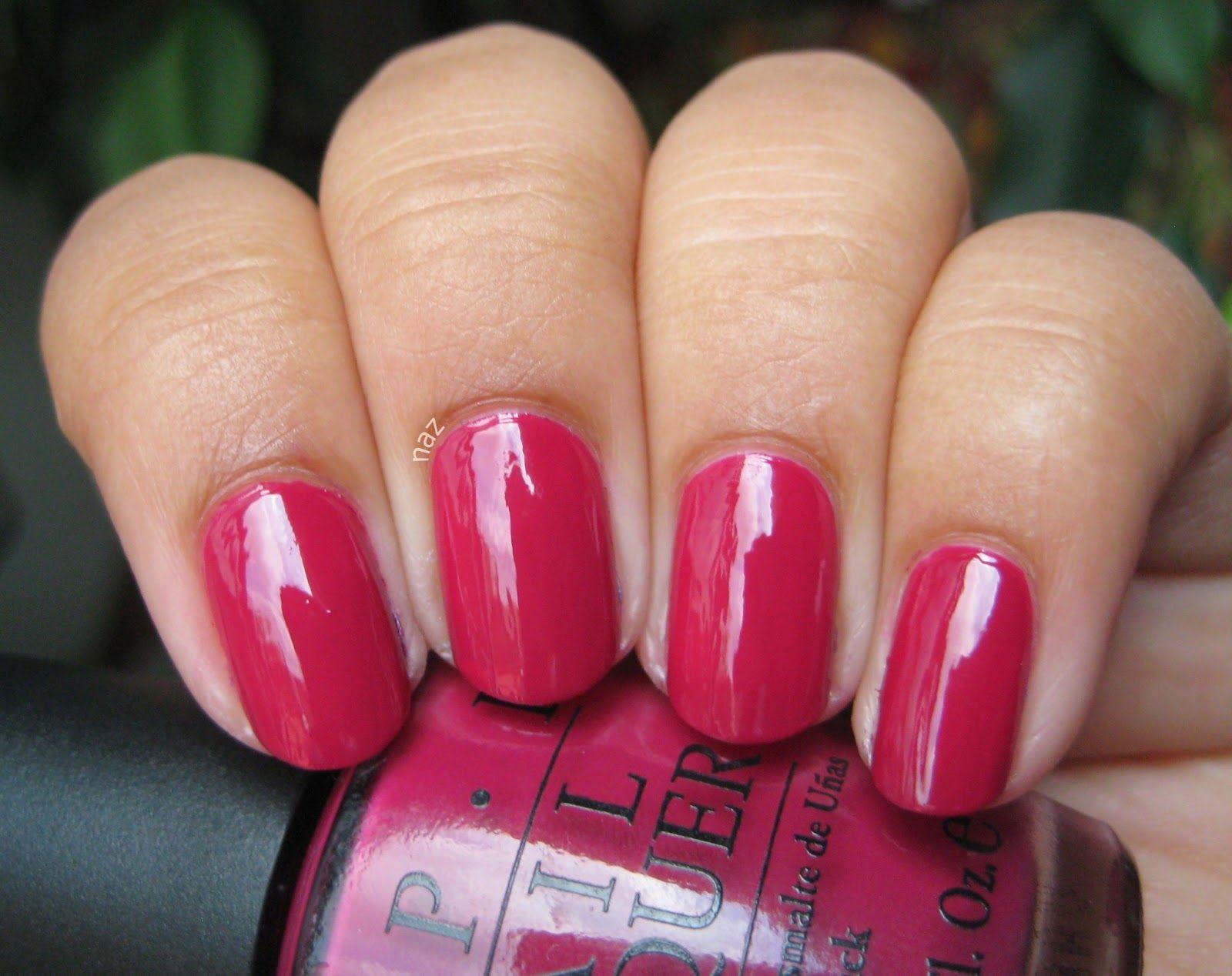 OPI Miami Beet | Nails | Pinterest