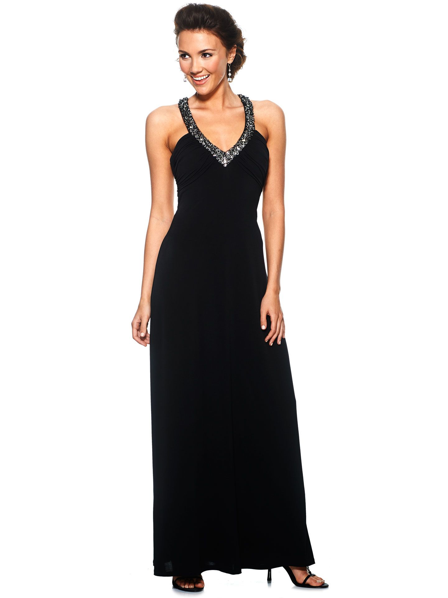 7a5c85bb3ea 23 Edgy Black Prom Dresses Guaranteed to Make You Stand Out