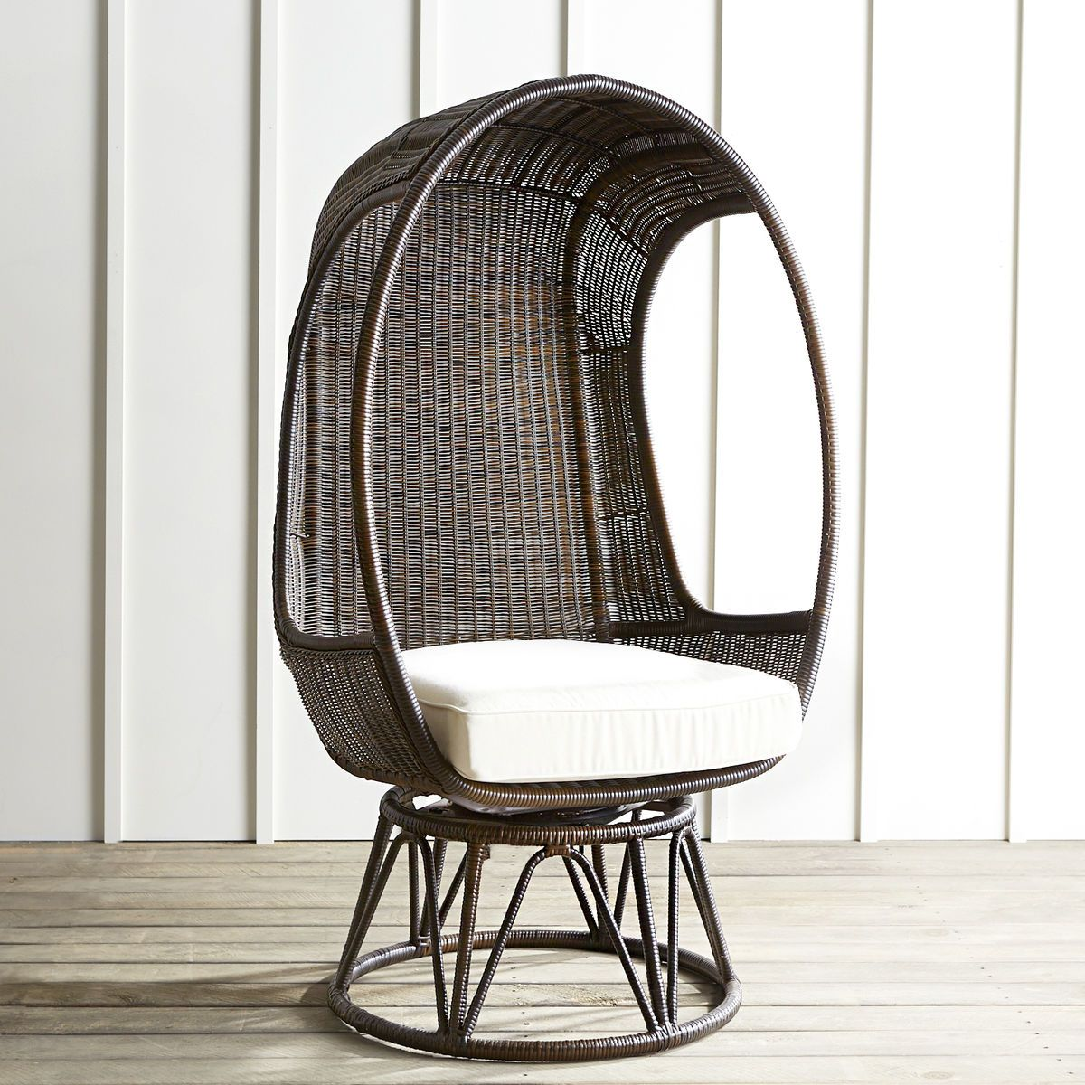 Mocha Swivel Chair With Images Swivel Chair Patio Chairs